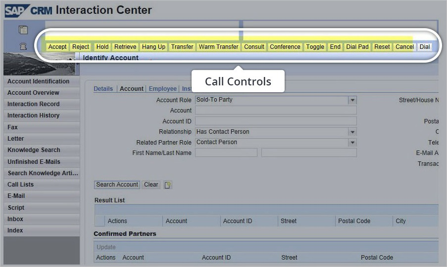 SAP CRM IC or Hybris CTI connector to Cisco UCCX / UCCE / PCCE