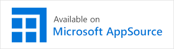 Available on the Microsoft Appsource